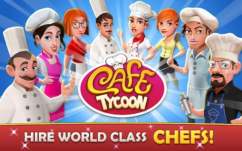 Cafe Tycoon – Cooking & Restaurant Simulation game 2