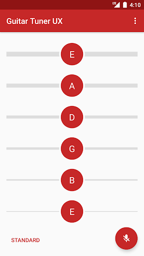 Guitar Tuner - Pro guitar tuning app 2.0.9 Screenshots 1