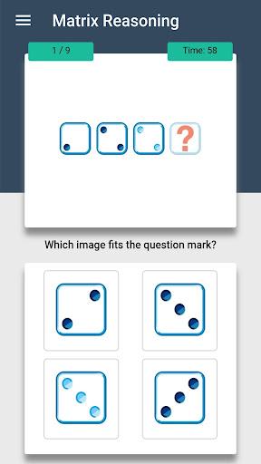 IQ Test - The Intelligence Quiz modiapk screenshots 1