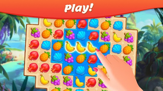 Tropical Forest: Match 3 Story Mod Apk (Unlimited Money) 4