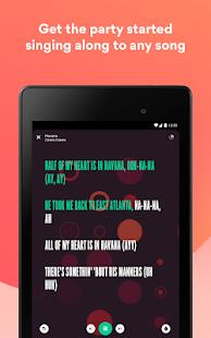 Musixmatch - Lyrics for your music 7.8.3 Screenshots 14