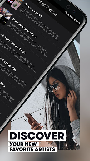 Stingray Music - Curated Radio & Playlists modavailable screenshots 4