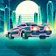 Cyberpunk racing, 2d game free casual.