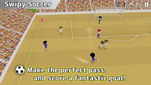swipy soccer screenshot 1