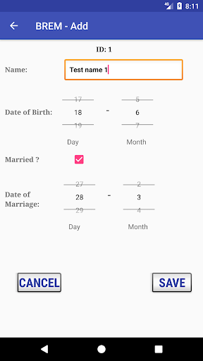 BREM (Birthday REMinder)  screenshots 3