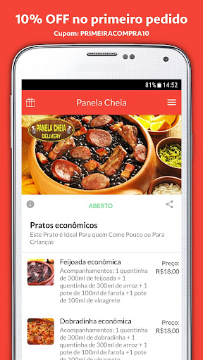 Panela Cheia Delivery 2.0.7 screenshots 1