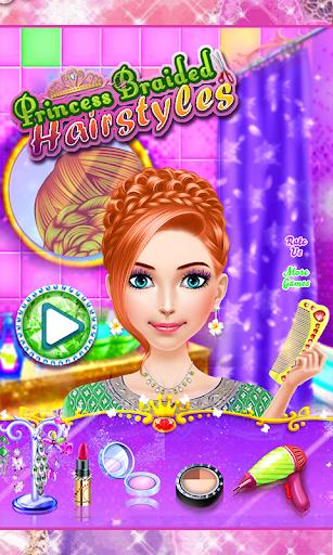 Princess Braided Hairstyles: Fashion Spa Salon  screenshots 1