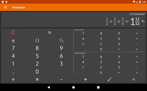 Fractions - calculate and compare 2.18 Screenshots 13