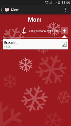 Foto do Christmas Gifts List