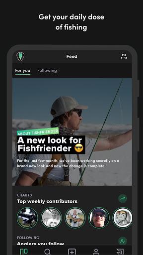 FishFriender - Social Fishing Log screenshots 1