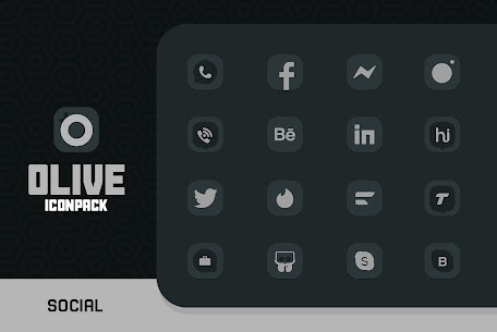 Olive Icon pack Apk 1.2 (Paid) for Android 3