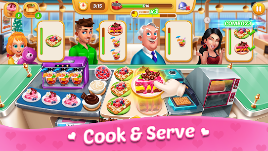 Cooking Sweet : Home Design, Restaurant Chef Games 5