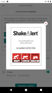MyShake Screenshot