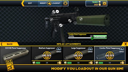 Gun Club 3 MOD APK (Unlimited Money) 4