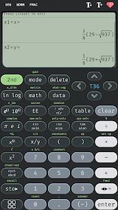 Scientific calculator 36 MOD APK, calc 36 plus (Premium) 4
