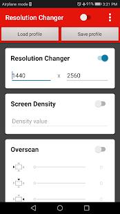 Screen Resolution Changer: Display Size & Density 2.0 Screenshots 14