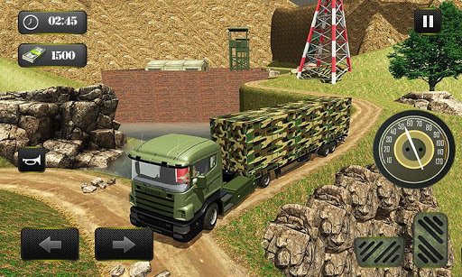 US OffRoad Army Truck driver 2020 1.0.8 screenshots 5