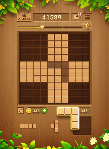 Wood Block Puzzle - Free Classic Block Puzzle Game 2.1.0 screenshots 23