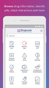 Drugs.com Medication Guide 2.12.1 Screenshots 1