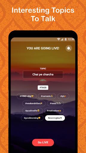 FRND - Audio Social Media App screenshots 3