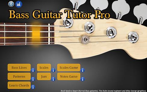 Bass Guitar Tutor Pro APK (PAID) Download Latest 9