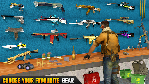 FPS Commando Game: New Sniper Shooting Strike 2021 apkdebit screenshots 15