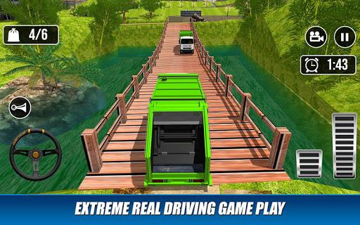 Offroad Garbage Truck: Dump Truck Driving Games 1.1.6 screenshots 12