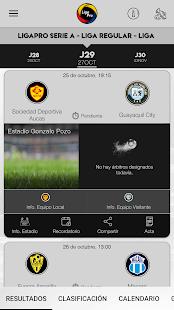 LigaPro Ecuador 1.0.7 Screenshots 4