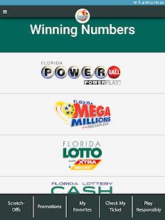 Florida Lottery Mobile Application