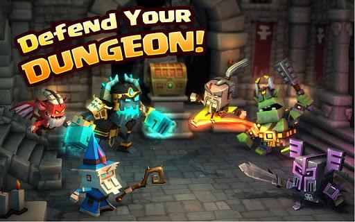 Dungeon Boss Heroes - Fantasy Strategy RPG  screenshots 4