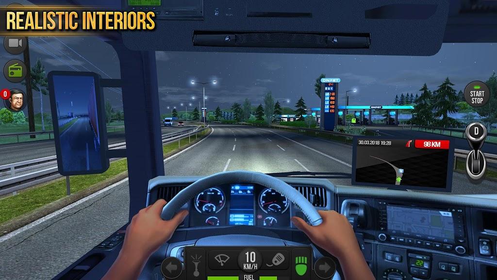 Truck Simulator 2018 : Europe poster 4