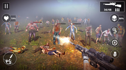 Dead Walk City : Zombie Shooting Game apkdebit screenshots 7