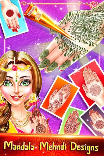 Traditional Wedding Salon - Makeup & Dress up Game Apkfinish screenshots 2