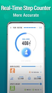 Fitnesstep - Step Counter Free & Home Workout 1.19