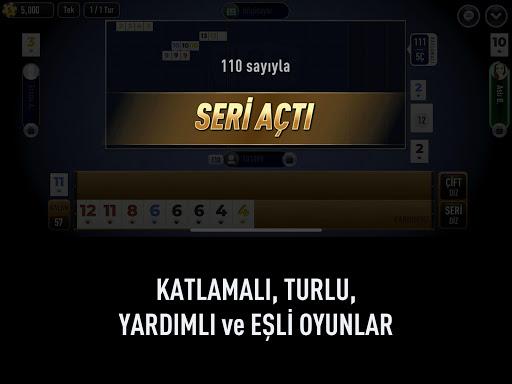 101 Yu00fczbir Okey Elit 1.4.4 screenshots 9