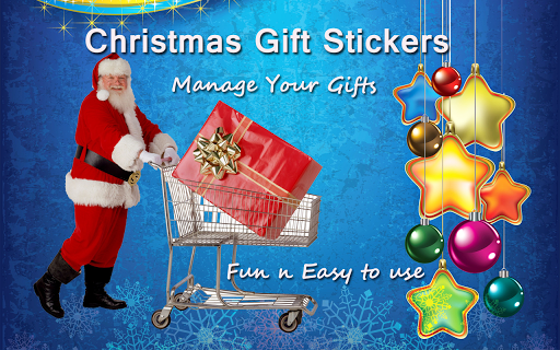 Foto do Christmas Gift Stickers
