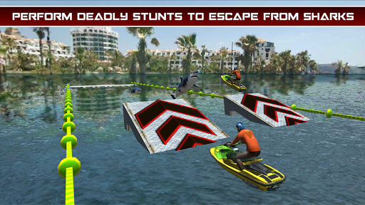 Power Boat Jet Ski Simulator: Water Surfer 3D apktram screenshots 2