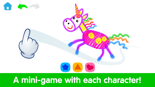 Toddler Drawing Academyud83cudf93 Coloring Games for Kids android2mod screenshots 4