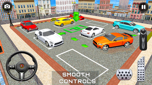 Modern Car Parking Drive 3D Game - Free Games 2020 android2mod screenshots 21
