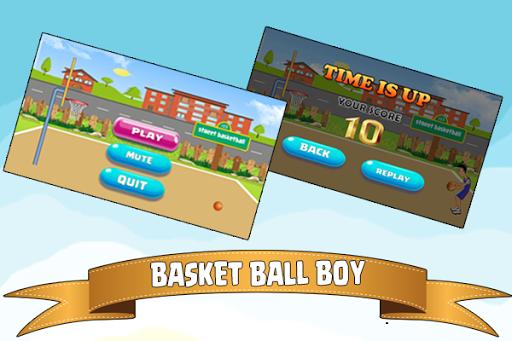 basketball boy – basket shot screenshot 1