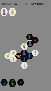 Hive with AI (board game) 8