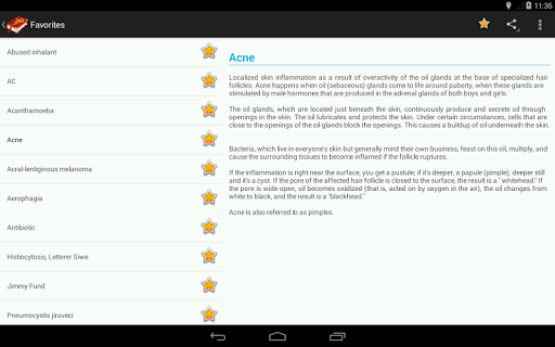 Medical Terminology Dictionary:Search&Vocabulary 3.6.0 Screenshots 12
