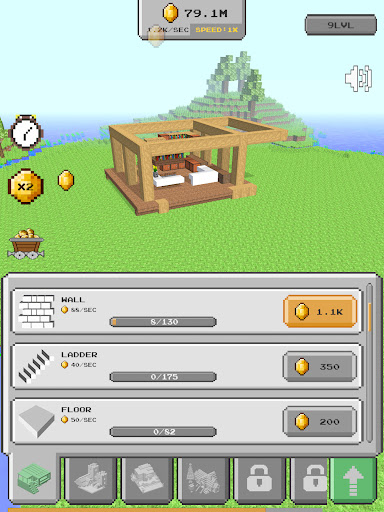 House Craft 3D - Idle Block Building Game Apkfinish screenshots 10