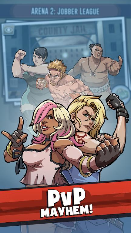 The Muscle Hustle: Slingshot Wrestling Game  poster 4