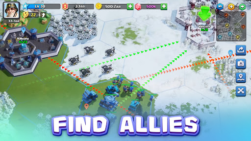 Top War: Battle Game Apkfinish screenshots 5