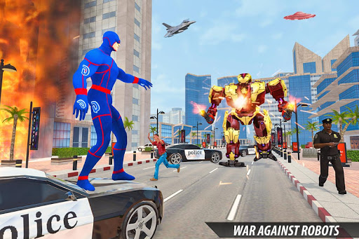 Grand Light Speed Robot Hero City Rescue Mission 2.0 screenshots 6