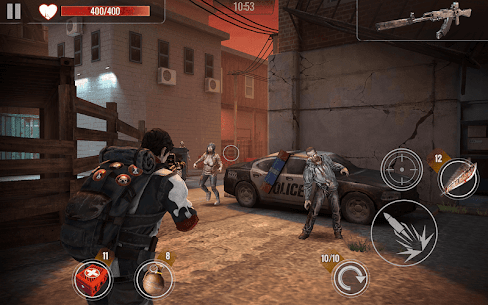 ZOMBIE HUNTER Mod Apk (Free Shopping) 6