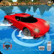 Beach Water Surfing Car Games: Car Water Games