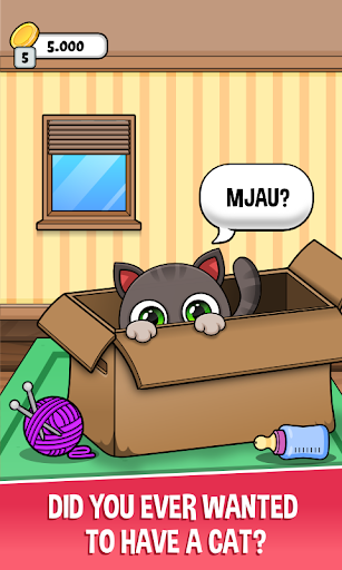 oliver the virtual cat screenshot 1