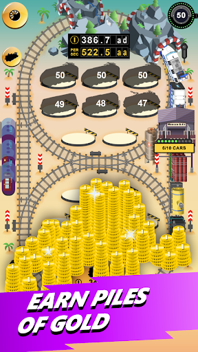 Train Merger - Idle Manager Tycoon  screenshots 2